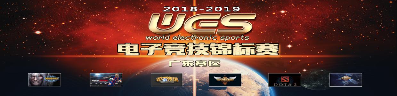 2018-2019WES电竞烽火 率先在粤省开幕