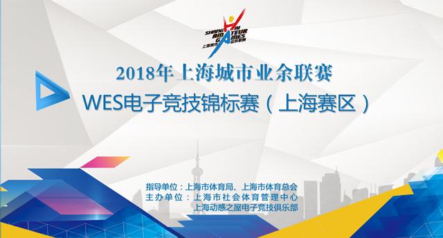 2018年上海城市业余联赛WES电子竞技锦标赛(上海赛区)