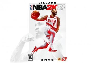 利拉德成为《NBA 2K21》全平台封面球员